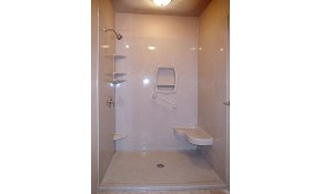 $3,500 for a Onyx Solid Surface Shower System...