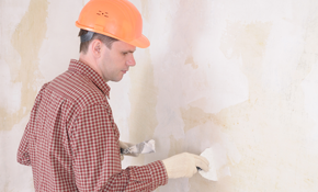 $390 for 6 Hours of Drywall or Plaster Repair