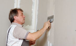 $249 for 6 Hours of Drywall or Plaster Repair