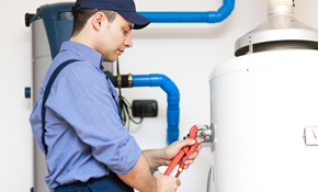 $119 Water Heater Flush and Plumbing Inspection