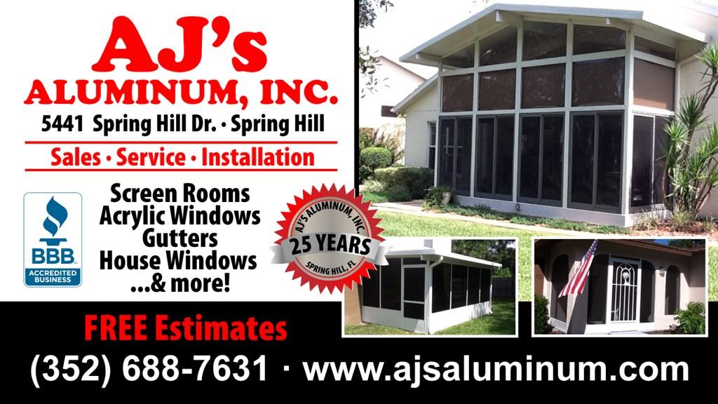 Aj S Aluminum Inc Spring Hill Fl 34606 Angies List