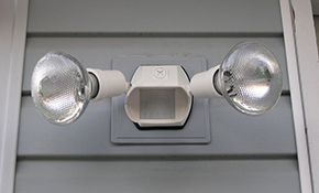 $119 for a Motion-Sensing Security Light,...