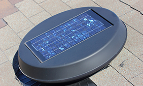 $795 for a New Solar Power Fan