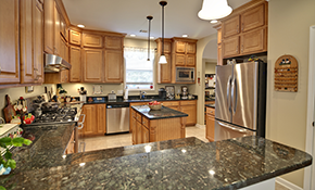 $1,799 for Custom Granite Countertops--Labor...