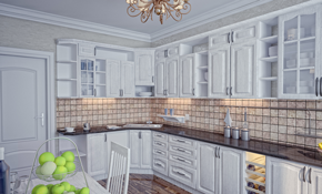 $4,300 for Custom Kitchen Cabinets for a...