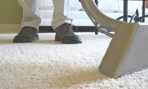 $109 for Four Rooms of Carpet Cleaning and...