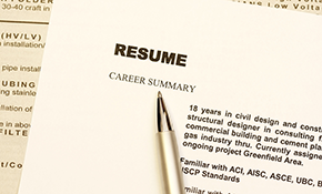 $125 for a Professional Resume