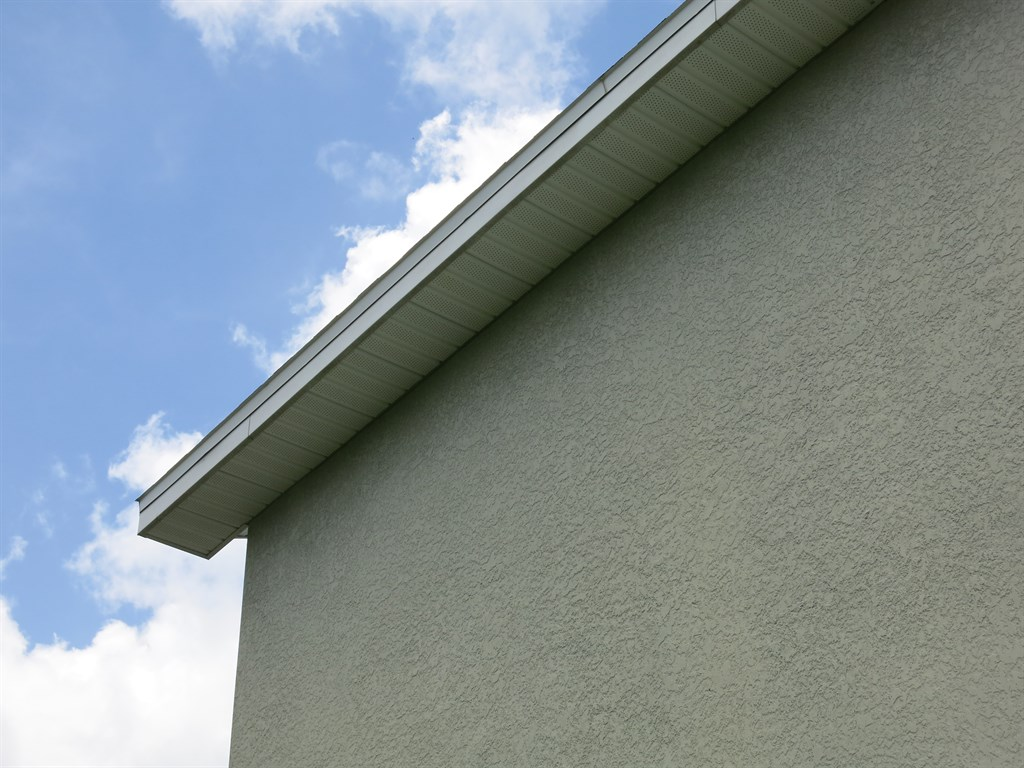 Soffits After Cleaning