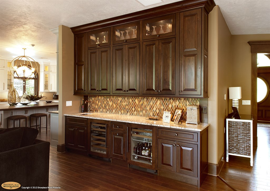 Showplace wood products inc harrisburg sd 57032 angies list - Wet bar cabinets ...