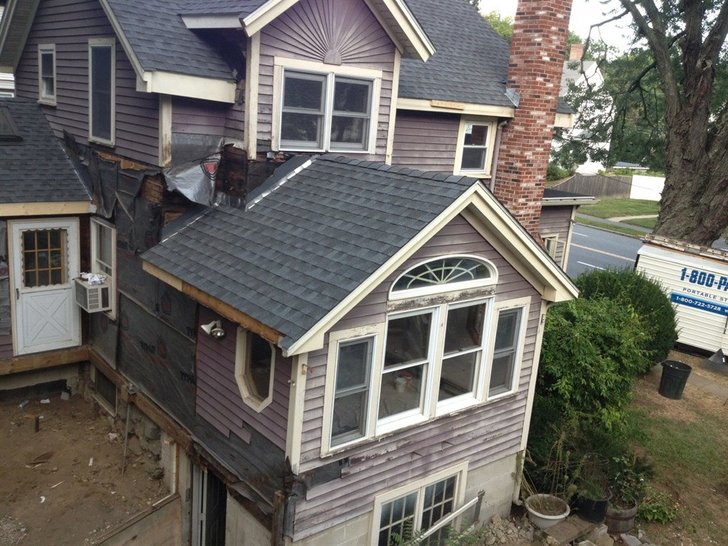 Roof: Before