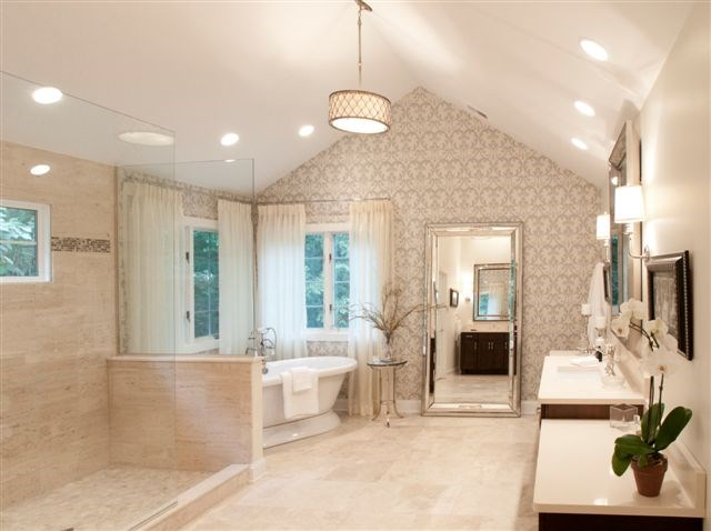 American contracting services inc towson md 21286 for Updated master bathrooms
