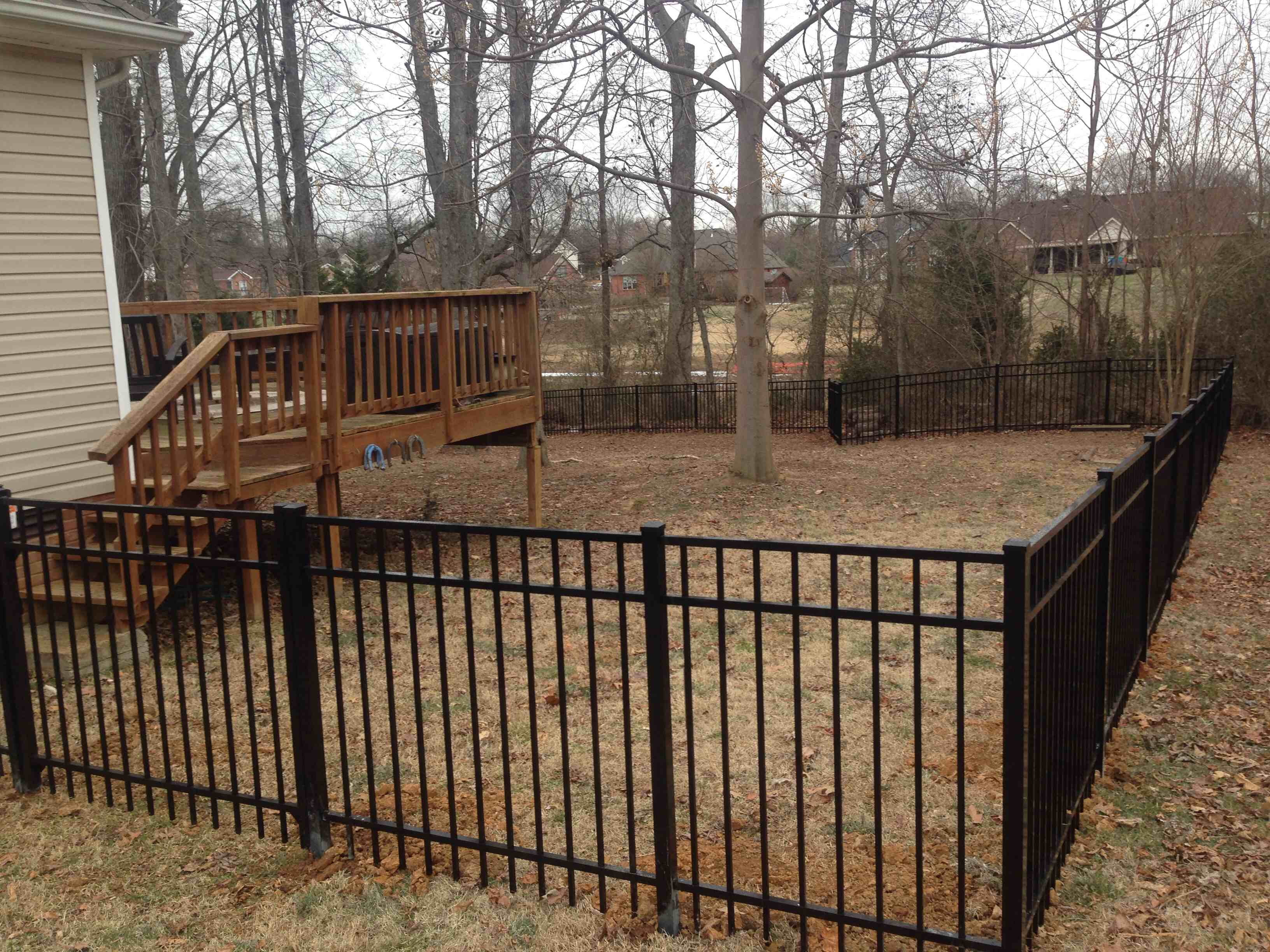 Yard Dog Fence Clarksville Tn 37043 Angies List