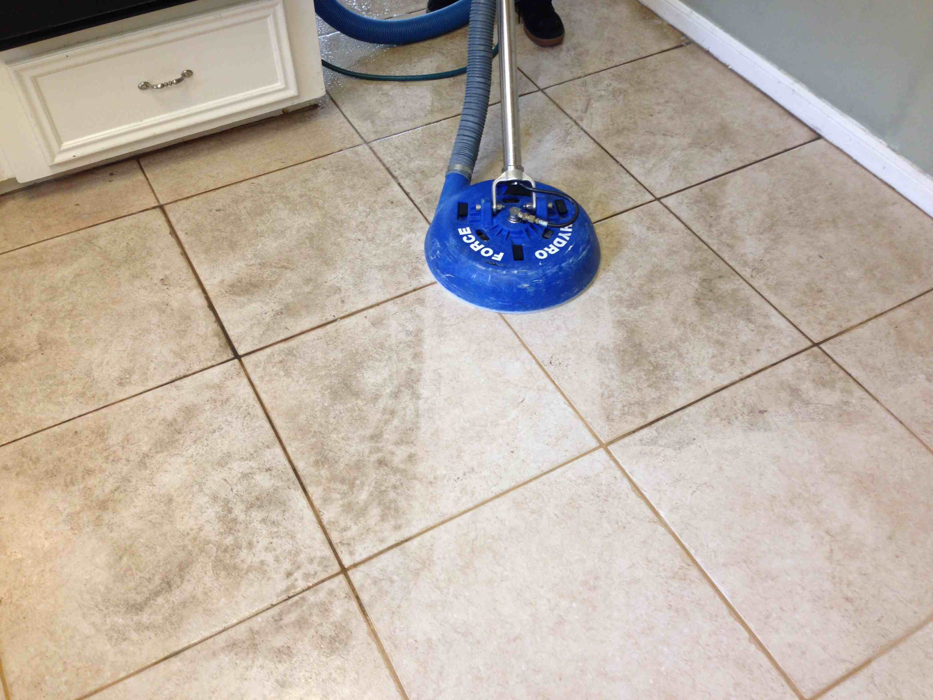 tile steam cleaning machine