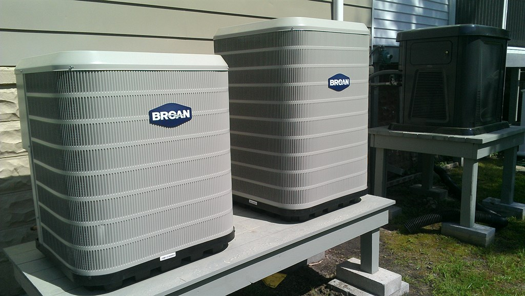 Broan Air Conditioning / Propane Stand by Generator