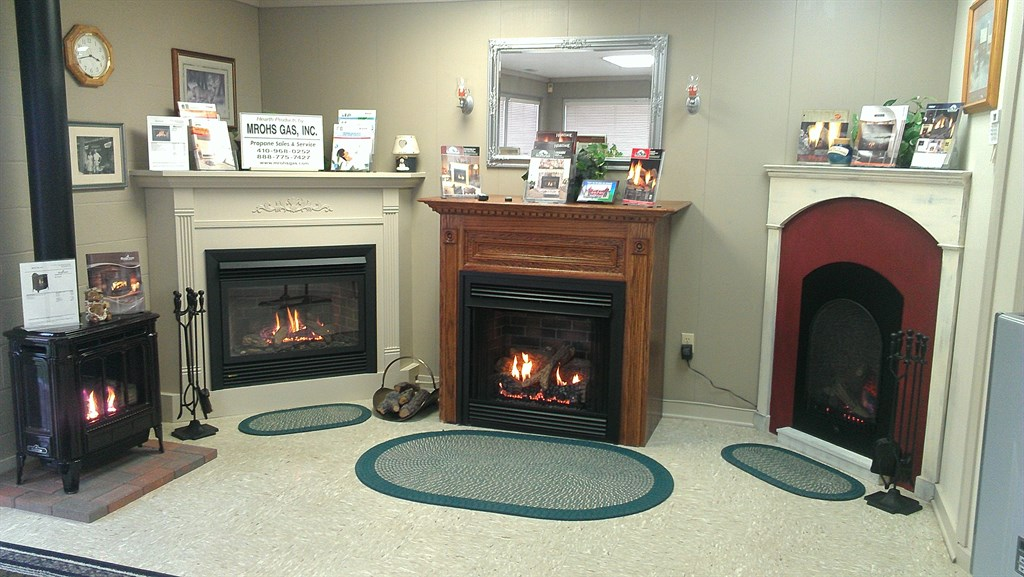 Our Hearth & Heating Showroom