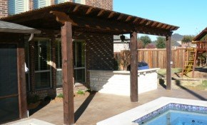 $2,399 for a Custom-Built Pergola for Your...