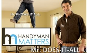$300 for Four Hours of Handyman Service