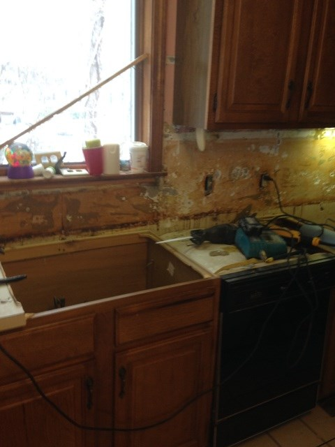 Kitchen Job-During