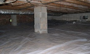 $167 for Vapor Barrier Installation and Crawlspace...