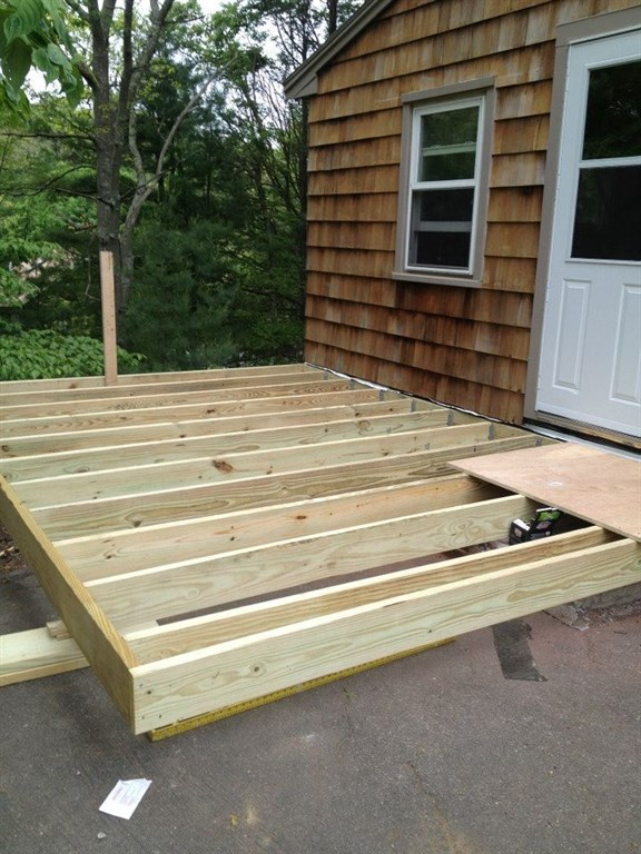 Decking-during construction