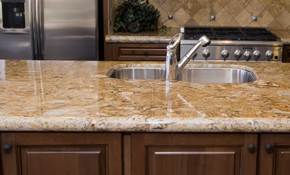 $1,665 for Custom Granite Countertops--Labor...