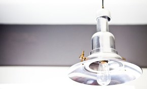$104 for One Light Fixture Replacement