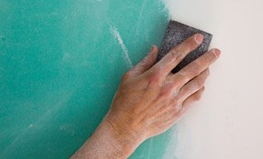 $550 for Acoustic Popcorn Ceiling Removal...