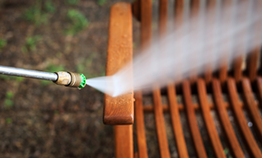 $99 for Wood Deck or Porch Pressure Washing