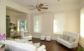 $525 for Two Rooms of Interior Neutral Painting