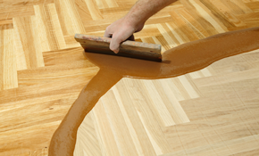 $749 for Hardwood Floor Preparation and Re-coating,...