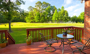 $249 Toward a New Deck Installation