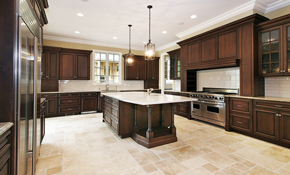 $1,225 for Natural Stone Polishing and Grout...