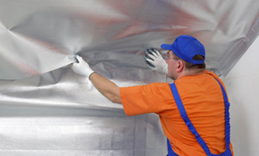 $472.50 for Crawl Space Vapor Barrier Installation...