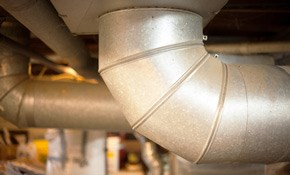 $165 for Air Duct Cleaning and Sanitizing