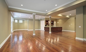 $9,995 for Basement Finishing or Remodeling...