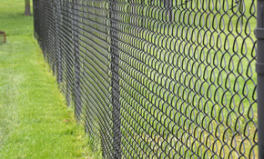 $2,090 for a Heavy Duty Chain Link Fence