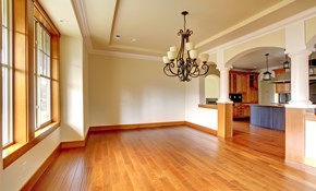$945 for Dustless Hardwood Floor Refinishing