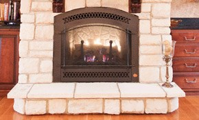 $149 for a Gas Log Fireplace Tune-Up, Cleaning,...
