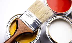 $1,100 for Four Interior Painters for a Day