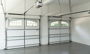 $180 for Replacement of Two Garage Door Extension...