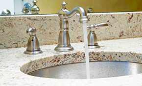 $300 for Natural Stone Vanity or Countertop...
