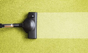 $129 for 3 Rooms of Carpet Cleaning, Deodorizing,...