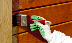 $1,600 for Exterior Trim Painting