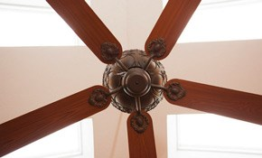 $112.50 Ceiling Fan Installation