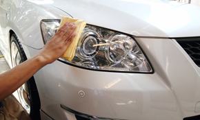 $180 for Professional Headlight Restoration