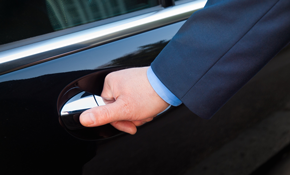 $465.50 for 5 Hours of Chauffeured Van Services