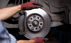 $250 for New Brake Pads and Rotors