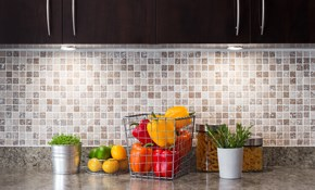$1,199 for a New Ceramic Tile Backsplash,...