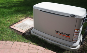 $1,170 for Installation of a Generator