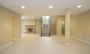 $250 for $500 Credit Toward Basement Renovation...